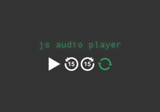 js audio player thumbnail